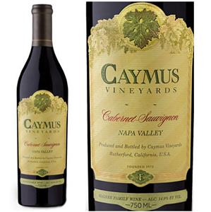 Caymus Vineyards Cabernet Sauvignon 2013